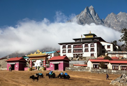 Everest base camp trek Nepal